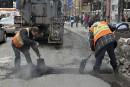 Les signalements de nids-de-poule diminuent à Québec