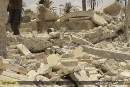 Syrie: bombardements russes et avancée de l'armée près de Palmyre
