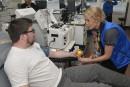 Le salon Plasmavie en manque de donneurs