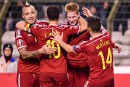 L'équipe de soccer belge annule son entraînement
