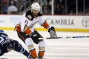 Brandon Pirri en audition avec Ryan Getzlaf et Corey Perry