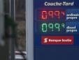 Le prix de l'essence fluctue pour une rare fois en ville