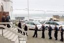 Funérailles d'un des pilotes de l'avion qui s'est écrasé aux Îles