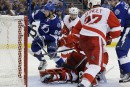 Le Lightning l'emporte 3-2 face aux Red Wings