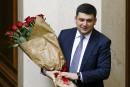 Un protégé du président Porochenko devient premier ministre