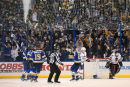 Les Blues l'emportent en prolongation face aux Blackhawks