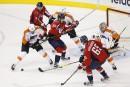 Les Capitals blanchissent les Flyers2-0