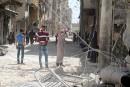 Des milliers de civils fuient les combats dans le nord de la Syrie