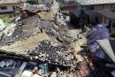 Le sud-ouest du Japon secoué à nouveau par un puissant séisme
