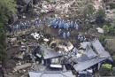 Japon: au moins 41mortsaprès une série de séismes