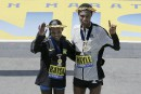 La région bien représentée au 120e marathon de Boston