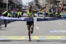 Balayage éthiopien au Marathon de Boston