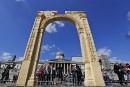 L'Arc de Triomphe de Palmyre renaît à Londres