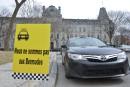 La guérilla des taxis contre Uber reprend