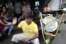Le karaoké mobile à la mode en Indonésie