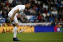 Cristiano Ronaldo blessé à la jambe droite