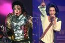 Prince et Michael Jackson, les «rivaux» de la pop