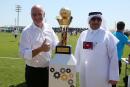 Mondial au Qatar: la FIFA surveillera les conditions de travail