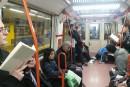Un «commando littéraire» dans le métro de Madrid
