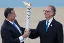 À 100 jours des Jeux de Rio, la flamme olympique est brésilienne