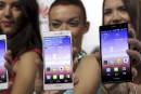 La croissance au point mort sur le marché des téléphones intelligents