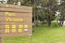 Pas de disc-golf au parc Victoria