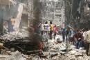 Alep «aux portes d'un désastre humanitaire»