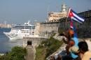 Cris de joie à l'arrivée d'une croisière américaine à Cuba