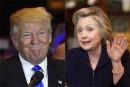 Hillary Clinton et Donald Trump au coude-à-coude dans trois États-clés