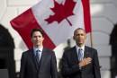 Justin Trudeau dit que ses beaux-parents ont été invités par Obama lui-même