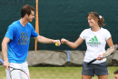 Andy Murray a apprécié son association avec Amélie Mauresmo
