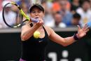 Eugenie Bouchard défait la deuxième joueuse mondiale