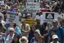 Les manifestants anti-avortement s'en prennent à l'aide médicale à mourir