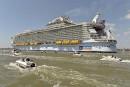 France: le plus gros paquebot du monde a quitté son port