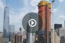 En accéléré: construction d'une tour aussi haute que Le Phare