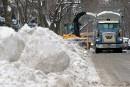 Moins de neige, plus de remorquages