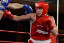 Victoire convaincante d'Ariane Fortinaux Mondiaux de boxe