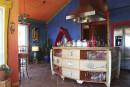 Une maison àSept-Îlesaux couleurs inspirées de Frida Kahlo