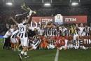 LaJuventus Turins'offre la Coupe d'Italie