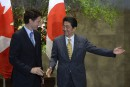 Le PM nippon met de la pression sur Trudeau