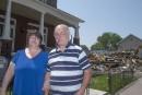 Incendie à Louiseville: leur maison sauvée <em>in extremis</em>