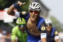 Tour d'Italie:Matteo Trentin remporte la plus longue étape