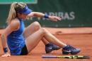 Eugenie Bouchard éliminée à Roland-Garros