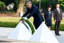À Hiroshima,Obama plaide pour un monde sans armes nucléaires