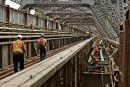 Peinture du pont de Québec: le ministre Garneau ferme la porte
