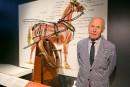 Exposition Hermès:des chevaux et une famille