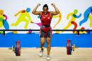 L'haltérophile Kristel Ngarlem rêve d'une place à Rio
