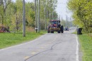 Des producteurs de lait quittent Québec pour se rendre à Ottawa