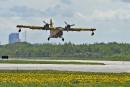 Les avions de la SOPFEU de retour de Fort McMurray