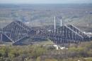 Le pont, «la tour CN» de Québec